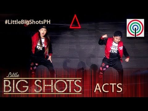 Little Big Shots Philippines: Jeromee and Thea | HipHop Dance Duo