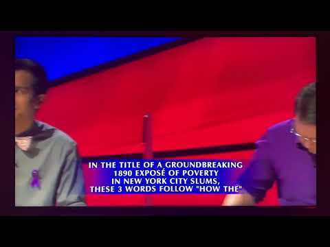 Alex Trebek gets choked up at 'Jeopardy!' contestant's answer.