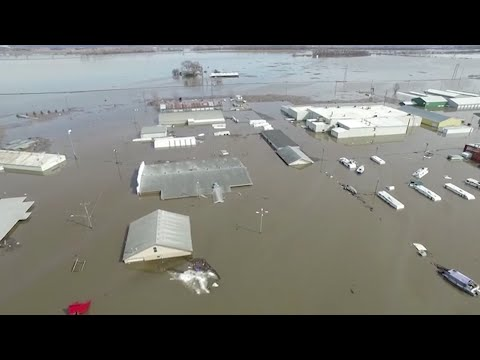 Officials say recent flooding in parts of Nebraska has caused nearly $1.4 billion in estimated losses and damage. (March 20)