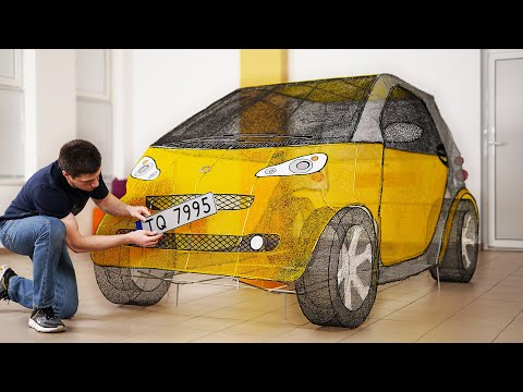 Building a Car with a 3D Printing Pen
