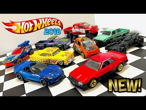 Opening 2018 Hot Wheels Cars!