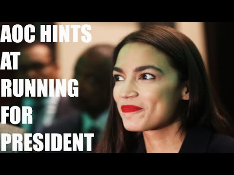 AOC Hints At Running For President Or Running Against Chuck Schumer In New Interview!