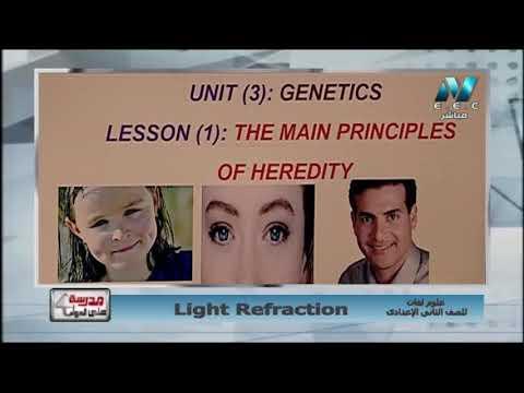 علوم لغات 2 إعدادي حلقة 9 ( Light Refraction ) أ محمد محمود 04-04-2019