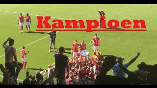 PSV Support:  Kampioensmovie Awayday PEC Zwolle-PSV : 8/5/2016 : 1-3
