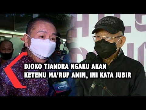 Djoko Tjandra Ngaku akan Ketemu Maruf Amin saat di Malaysia, Ini Kata Jubir