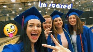 i GRADUATED high school *barely*!!!! (vlog)