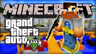 """Minecraft GTA 5 Mod - Episode #1 w/ Ali-A! - """"GRAND THEFT AUTO V IN MC!"""""""