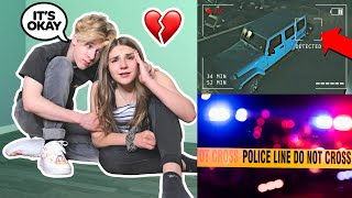 Someone BROKE Into My Car And STOLE IT **LIVE FOOTAGE** Emotional Reaction 💔🚓 | Piper Rockelle