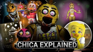 FNAF Animatronics Explained - CHICA (Five Nights At Freddys Facts)