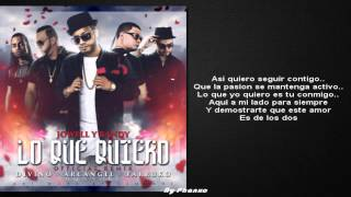 Lo Que Quiero (Remix) |Letra| - Jowell y Randy Ft. Divino Arcangel & Farruko 2015