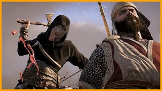 Black Altair Outfit Assassin Creed Valhalla Stealth Kills Outpost clearing