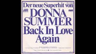 Donna Summer- Back In Love Again-Single Version with Fadeout