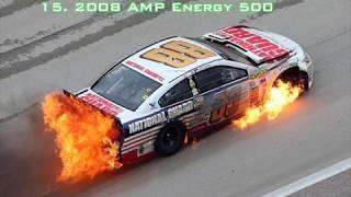 Top 15 Worst Dale Earnhardt Jr Wrecks