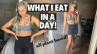 GOING VEGETARIAN! WHAT I EAT IN A DAY 2020 | Maddie Woods