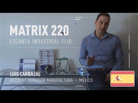 Datalogic Matrix 220™ demonstration video (Spanish only)