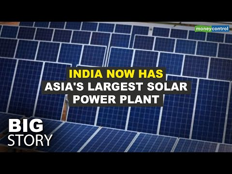 India Now Has Asia's Largest Solar Power Plant | Big Story