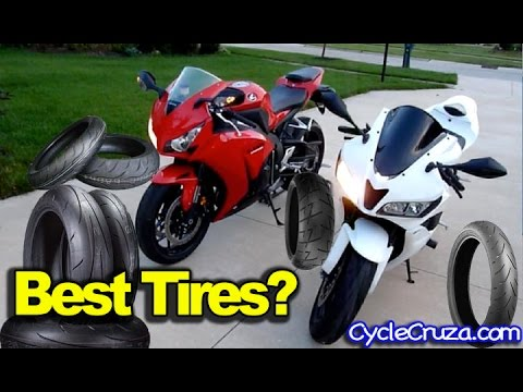 Best Motorcycle Tires – My Tire Experience 250cc 600cc 1000cc