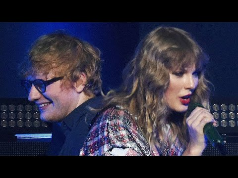 Taylor Swift with Ed Sheeran - End Game - live
