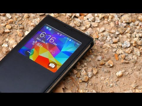 Samsung Galaxy S5 S-View Flip Cover Review