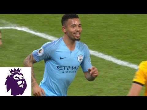 Gabriel Jesus' tap-in puts Man City in front against Wolves | Premier League | NBC Sports