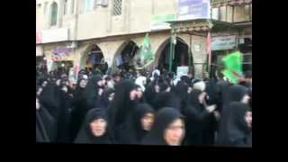 preview picture of video '09-Dec-2011 Karbala Youm-e-Tadfeen Tribes of Bani Asad reach for burial of shohadas'