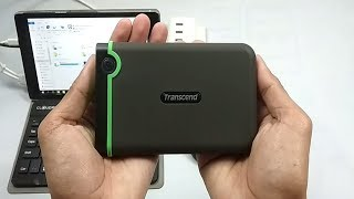 Transcend StoreJet 25M3 Unboxing and Review (+ Elite & RecoveRx)