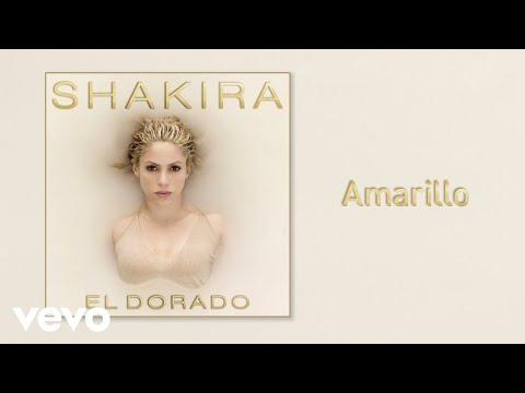 Amarillo (Audio) - Shakira (Video)