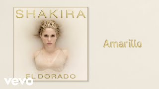 Amarillo (Audio) - Shakira (Video)