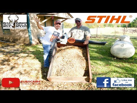 Real Demo of the STIHL SH-86 CE Leaf Vacuum Shredder