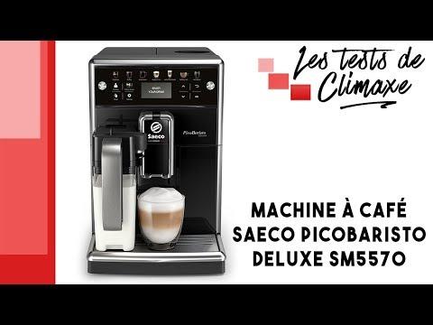 Test de la machine à café Saeco PicoBaristo Deluxe SM5570