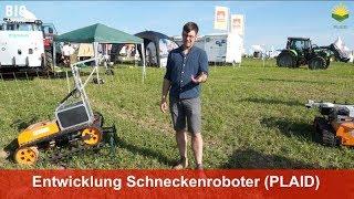 Roboter zur Regulierung von Schnecken im Ackerbau (Uni Kassel, KommTek und Julius Kühn Institut)