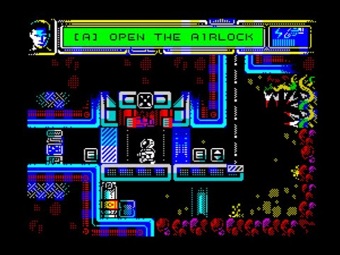 Marsmare: Alienation Walkthrough, ZX Spectrum