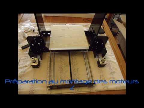 Test de l\'imprimante 3D Anet A8 pour BangGood (Assemblage)