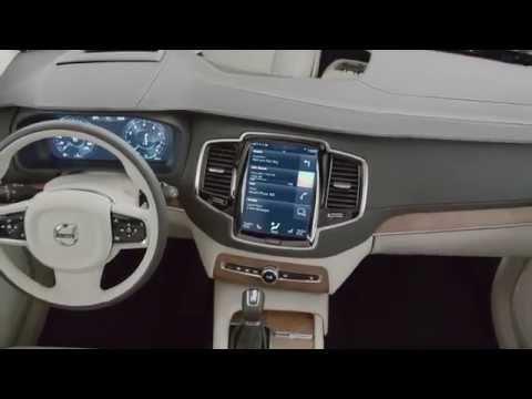 Nueva Volvo XC90 por dentro