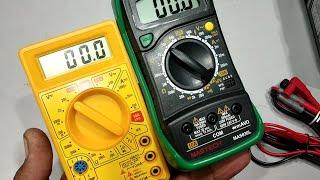 Best multimeter,chaep and costly, घर और दुकान के लिए कैसा multimeter लिया जाए,