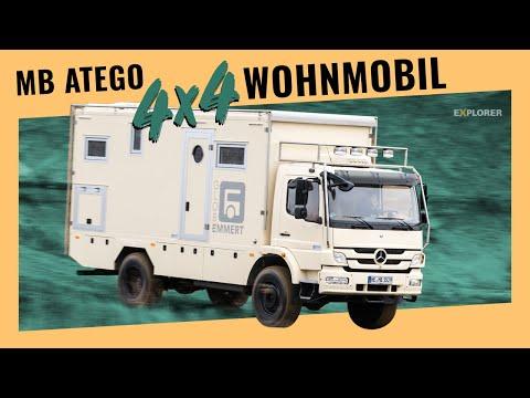 Weltreisemobil mit Vollausstattung – Probefahrt des Emmert Globe 6000