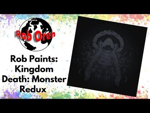 Rob Paints Kingdom Death Monster