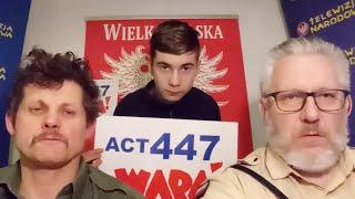 PORĘBA SPOTYKA SIĘ Z AMBASADOREM IZRAELA dyplomacja polska przeciwko geremkowszczyźnie
