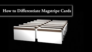 How to Differentiate Magstripe Plastic ID cards
