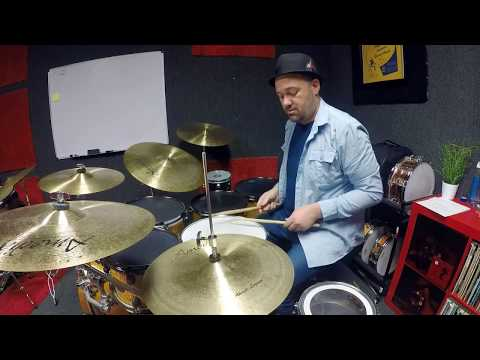 Steve Denning Drum Solo - Improvised Latin Drum Solo