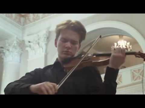 Mendelssohn Concerto in E Minor (II.) - St. Petersburg Philharmonia, Grand Hall. (2014)