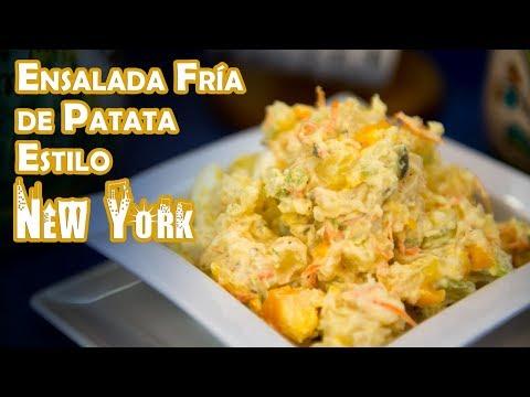 Ensalada Fria de Patata Estilo New York Delicatessen Receta Autentica