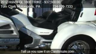 2012 Honda GL 1800 TRIKE TRIKE for sale in Belle Vernon, PA
