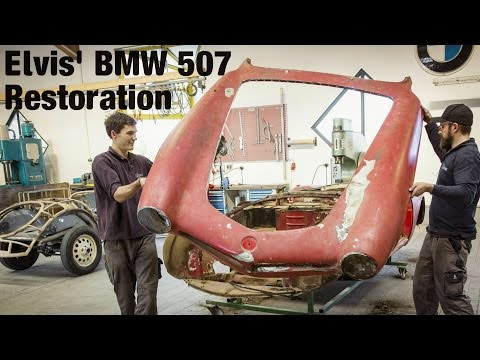 BMW 507 Restoration [41:10]