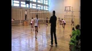 preview picture of video '26.01.13 MKS MOS Wieliczka - OGNIWO Piwniczna - siatkówka'