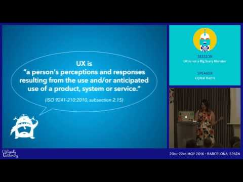 JAB16 - UX is not a Big Scary Monster