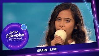 Spain 🇪🇸   Melani Garcia   Marte   LIVE   Junior Eurovision 2019