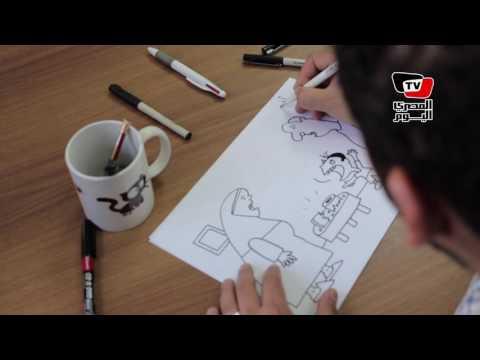كاريكاتير| هكذا يرى «عبدالله» الأزمة الاقتصادية