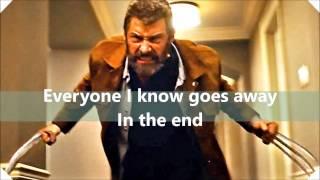 Johnny Cash   HURT (Lyrics) LOGAN (SoundTrack) LOGAN Trailer Song