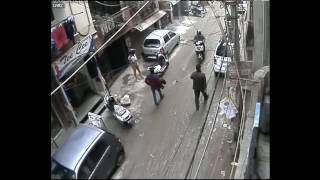 """""""Daylight Robbery  Who's to Blame """" - South Delhi""""!!!  CCTV Footage"""